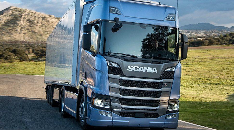 Scania a Gás em 2020