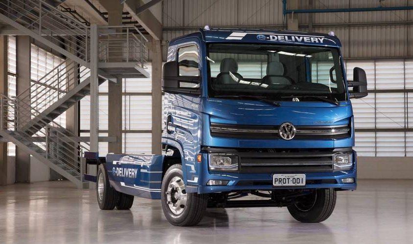 Caminhão Elétrico desenvolvido no Brasíl VW - Rodoceará